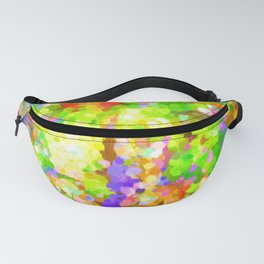 A Sparkling Delight In The World Of Color Fanny Pack