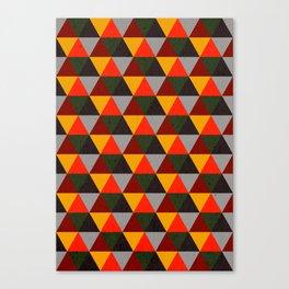 Ternion Series: Wintertide Carnival Notion Canvas Print