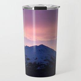 Pink and Purple Sunrise Travel Mug