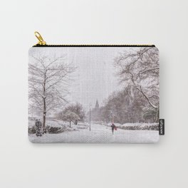 snow days in the park Carry-All Pouch