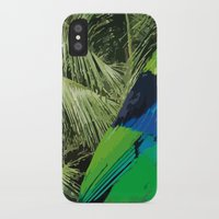 brasil iPhone & iPod Cases featuring Brasil Tropical by watermelon