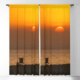 Classic SoCal Sunset Blackout Curtain