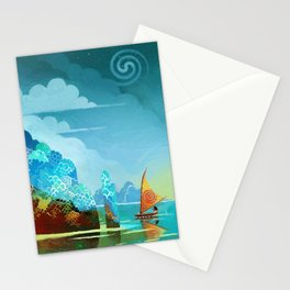 Moana lagoon Stationery Cards