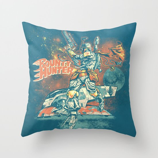 BOUNTY HUNTER Throw Pillow