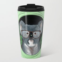 Koala on vinyl Travel Mug
