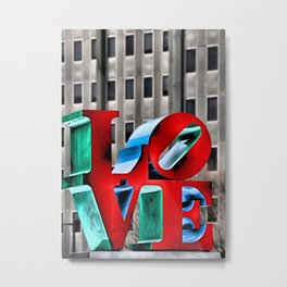 Love from Philly Metal Print