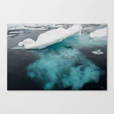 Iceberg 03 - Greenland Canvas Print