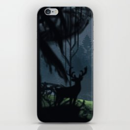 Viking Village in the Forest iPhone Skin