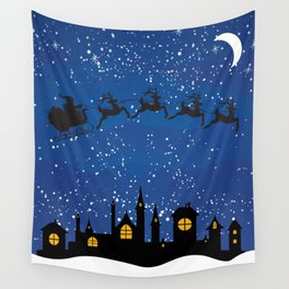 Twas The Night Before... Wall Tapestry