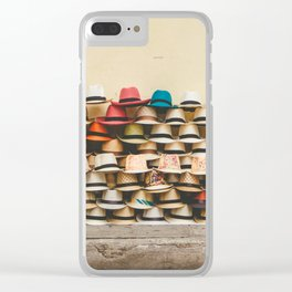 Panama Hats in Cartagena, Colombia Clear iPhone Case