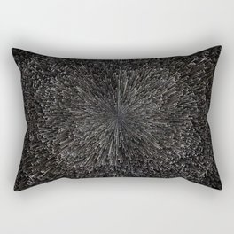 PLANET PIXEL BLACK ABYSS Rectangular Pillow