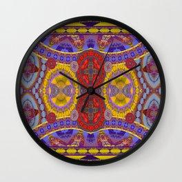 Mystical Magic Circus Abstract Print Wall Clock