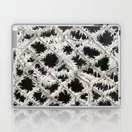 Frosted Fence Laptop & iPad Skin