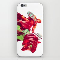 he man iPhone & iPod Skins featuring he-man by BzPortraits