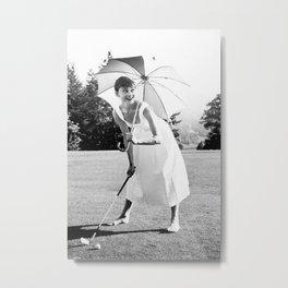 Vintage Audrey Hepburn Breakfast at Tiff-any's Pink Flowers Framed Photo Print Picture Frame Metal Print
