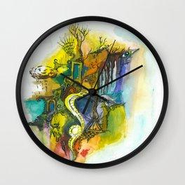 Symbols and fears Wall Clock