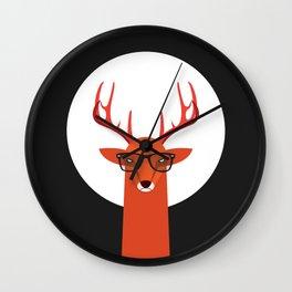 OHH DEER Wall Clock