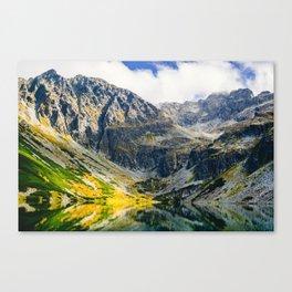 Tatry Poland Mountain Lake Reflections Canvas Print