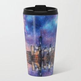 New York Fireworks Travel Mug