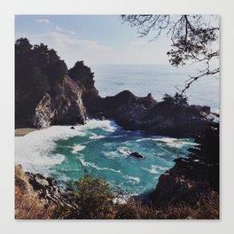 McWay Falls, Big Sur Canvas Print