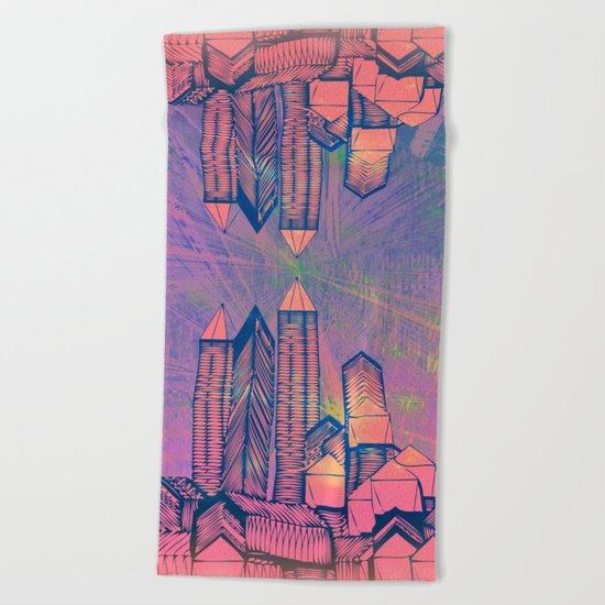 Cosmic Mirror 09-08-16 Beach Towel