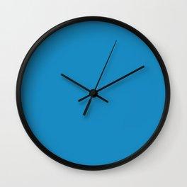 #188Bc2 Cornflower Blue Wall Clock