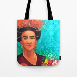 Frida Fragil y fuerte Tote Bag