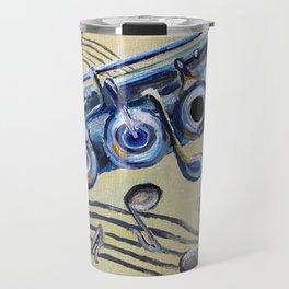Flute Blues Travel Mug