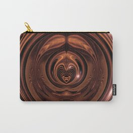 Circular Carving - Inlaid v.6 Carry-All Pouch