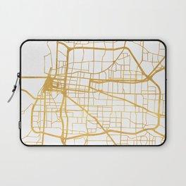 MEMPHIS TENNESSEE CITY STREET MAP ART Laptop Sleeve