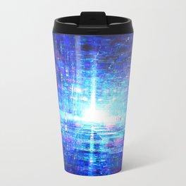 Blue Reflecting Tunnel Travel Mug