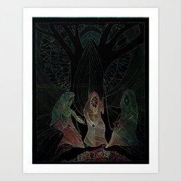The Norns Art Print
