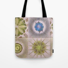Underbuys Configuration Flowers  ID:16165-093621-68510 Tote Bag