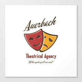 Auerbach Theatrical Agency Canvas Print