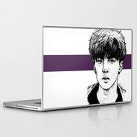 exo Laptop & iPad Skins featuring Sehun EXO Exodus by fabisart