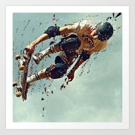 skate board 6 Art Print
