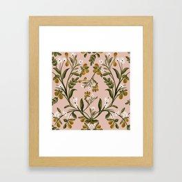 Botanical Pears Framed Art Print