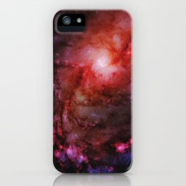Monster of Messier 83 iPhone Case