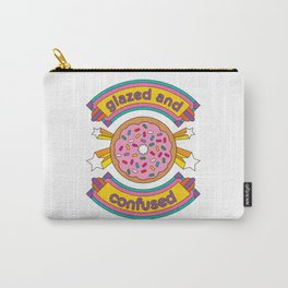 Glazed And Confused Donut Carry-All Pouch
