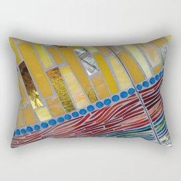 yellow mosaic Rectangular Pillow