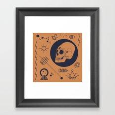 37 Latitude Framed Art Print