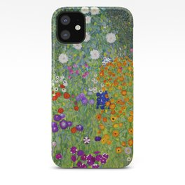 Flower Garden - Gustav Klimt iPhone Case
