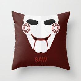 SAW Throw Pillow