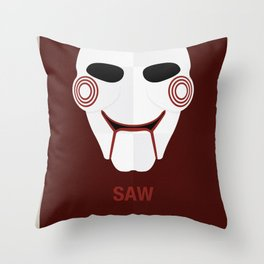 SAW Throw Pillow