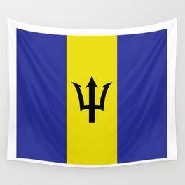 barbados flag Wall Tapestry