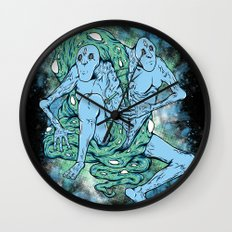 Sewn Together Wall Clock