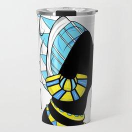 BlackQueen (Blue) Travel Mug