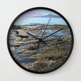 Rangitoto View Wall Clock