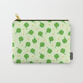 Kawaii Lucky Clover Carry-All Pouch