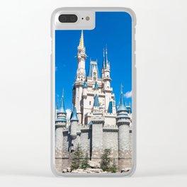 Pretty in Blue Clear iPhone Case